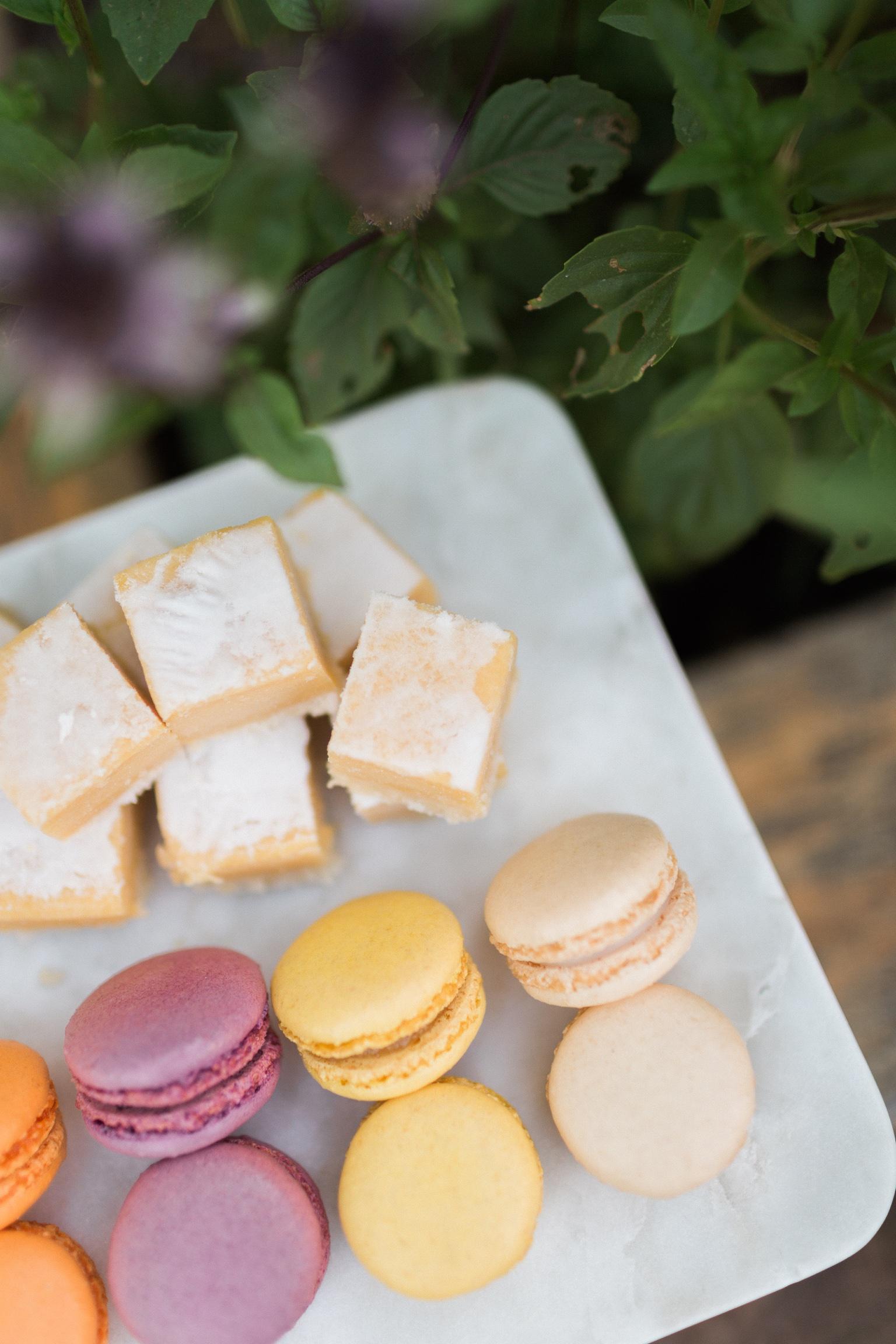 Great Tips for Bad Bakers: Buy these lemon bars and macarons at Trader Joe's