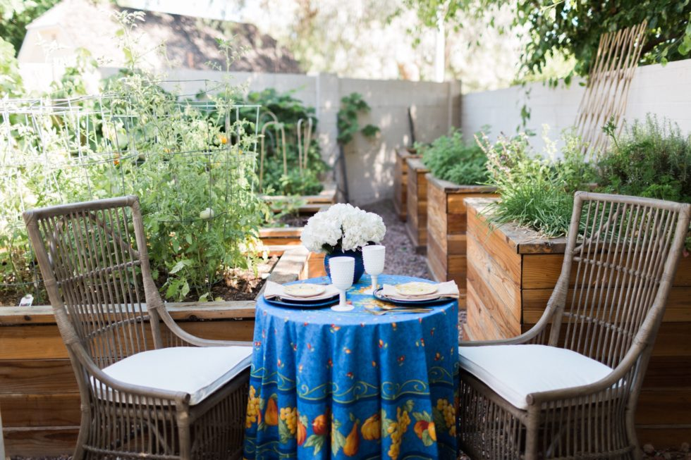 Garden Birthday Tea for Two
