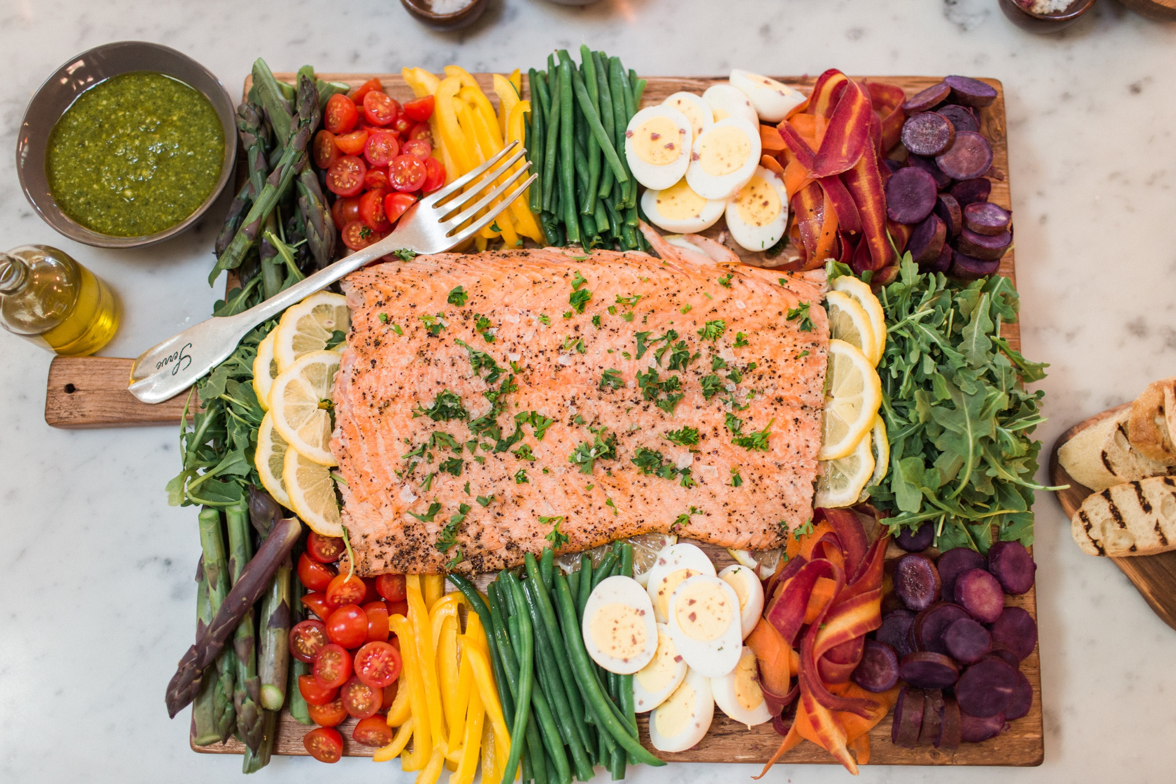 Simple and Perfect Oven Roasted Salmon