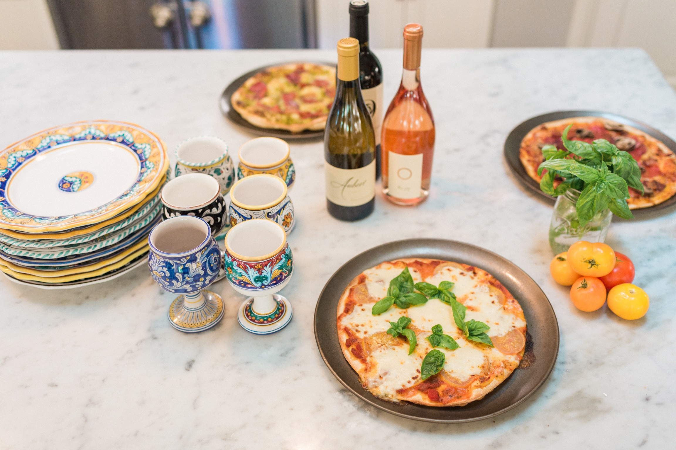Host a DIY Pizza Party