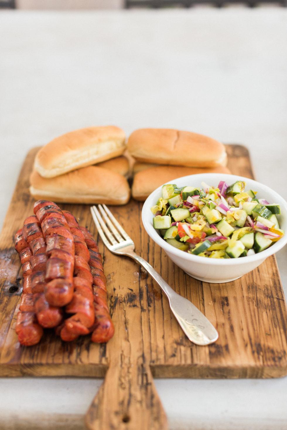 Spiralized Hot Dog BBQ: A new twist on a summer classic