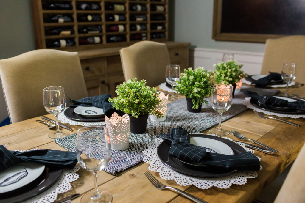 IKEA tablescape under $100