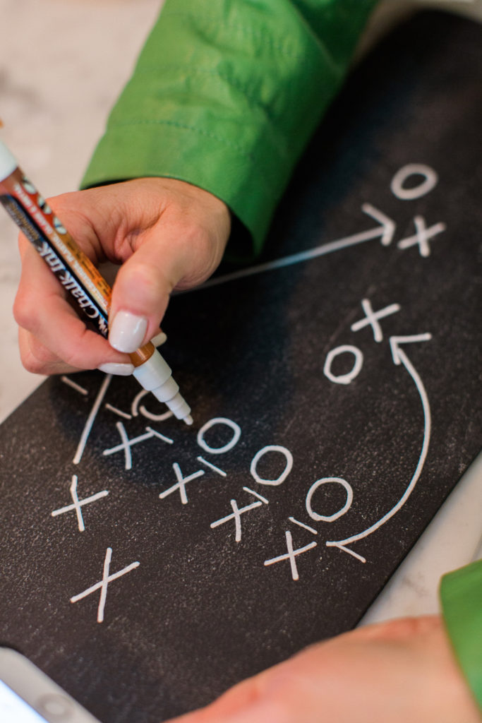 chalkboard play board
