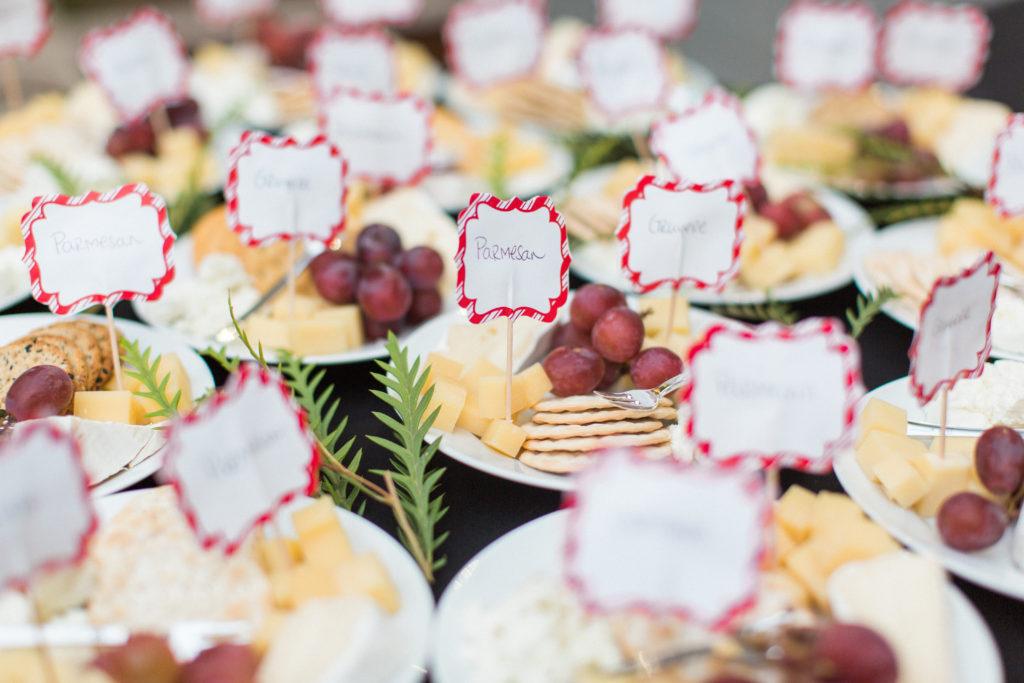 individual cheese plates