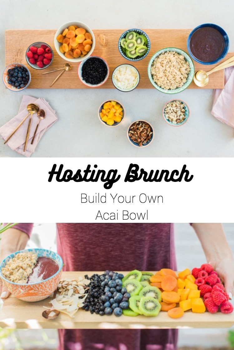 Hosting a healthy brunch with Acai Bowls