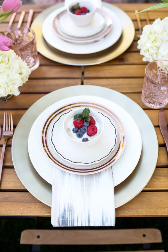 The Textured Dinnerware collection from West Elm