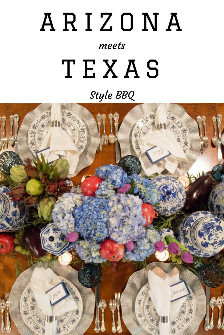 Arizona meets Texas BBQ Dinner Party