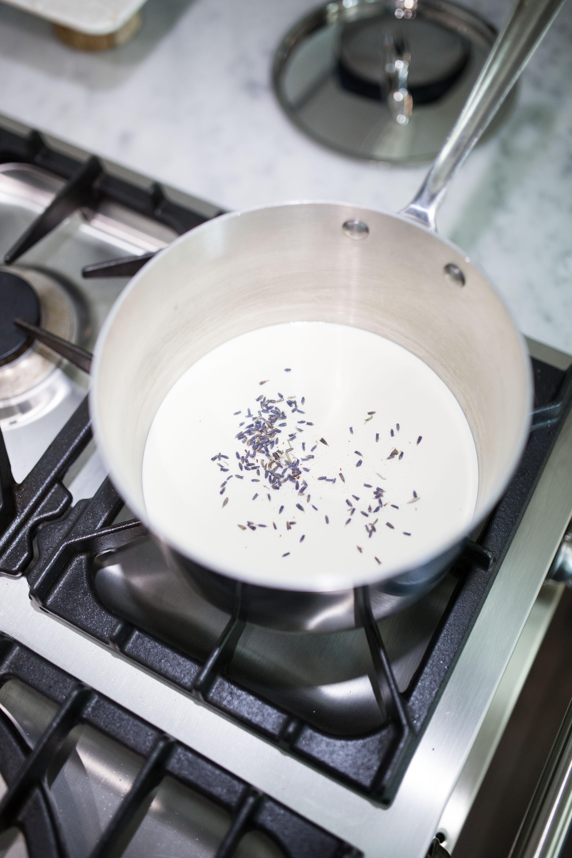 Lavender Whipped Cream