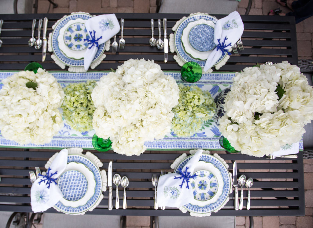 Aerin Lauder's table runner