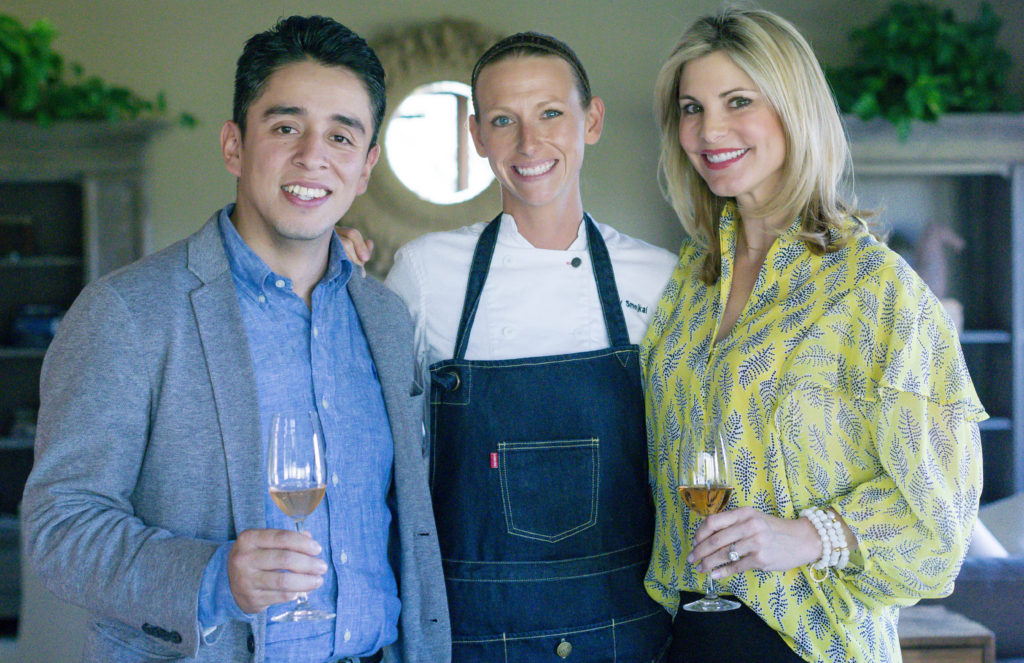 wine country chef dinner