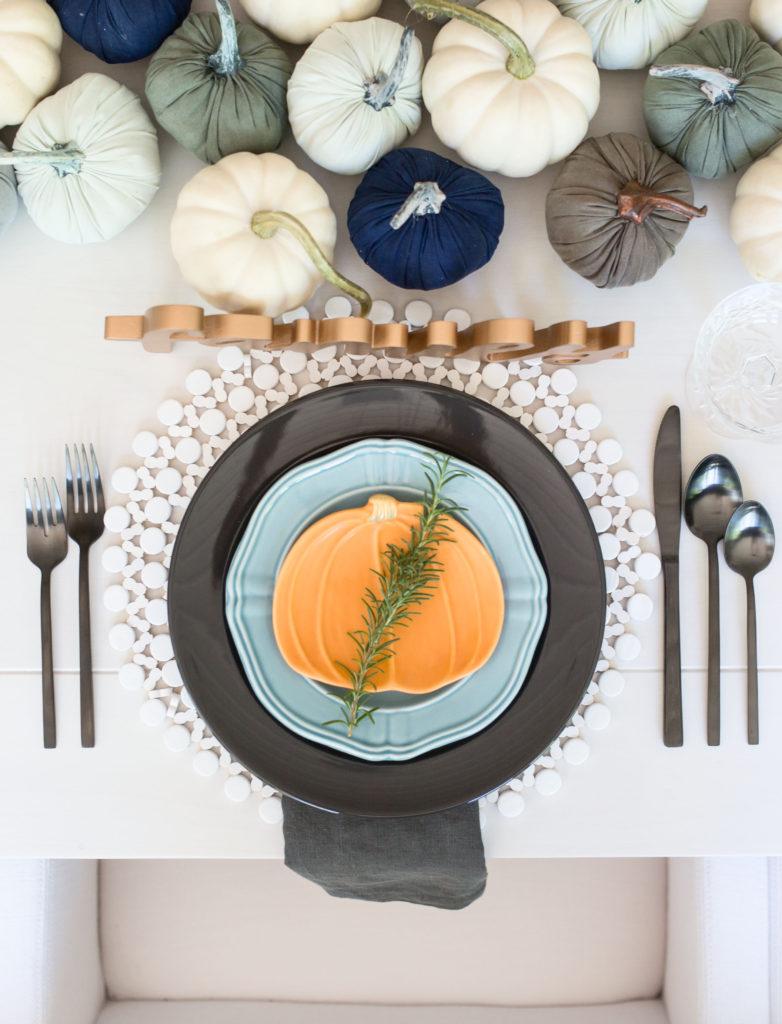 luxury tablescape replica
