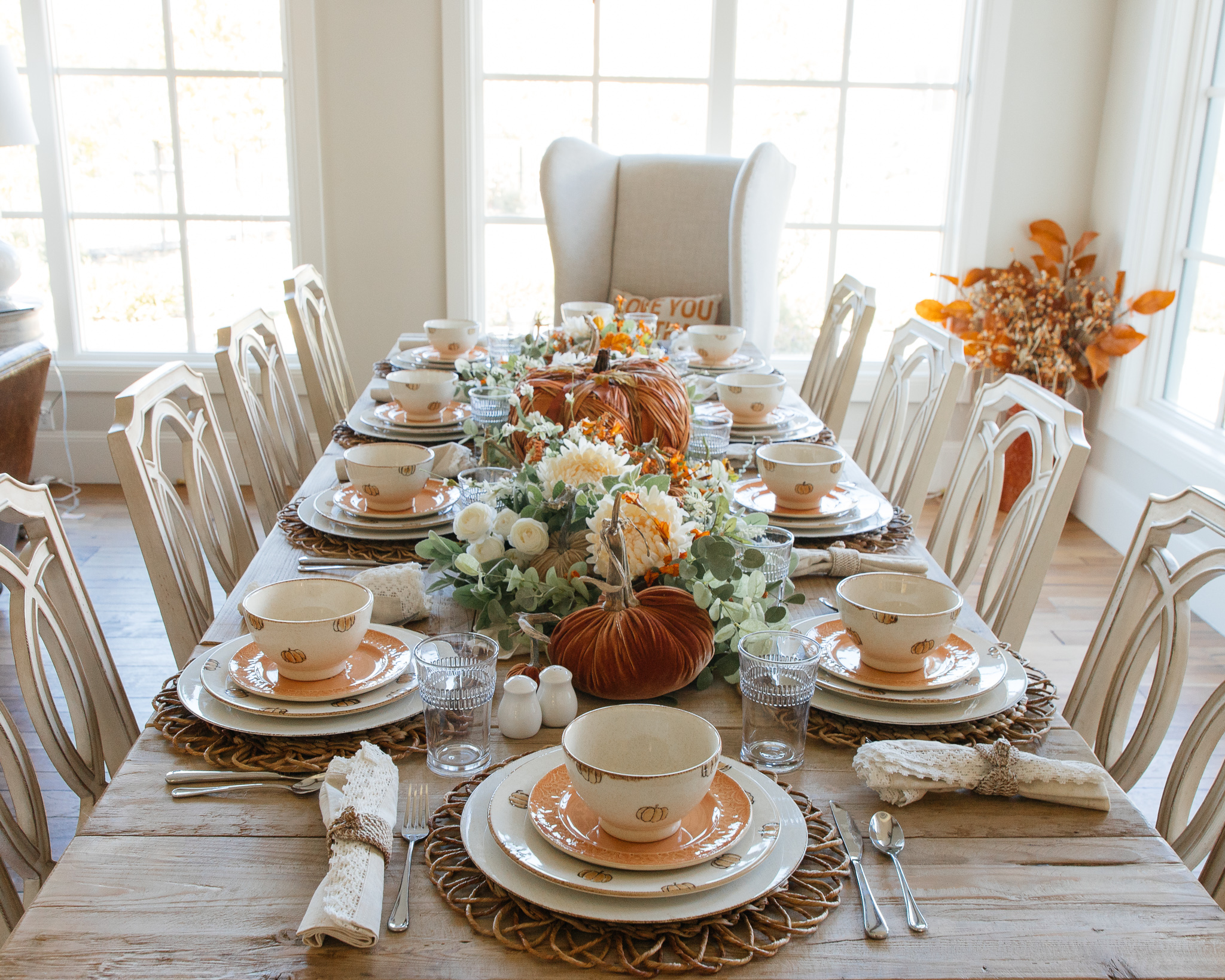 Holiday Hosting at Home #2: Fall Tablescapes and Home Decor