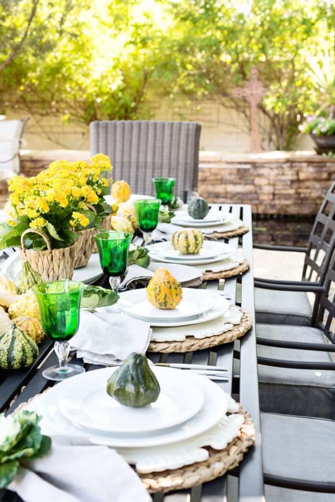 transitional fall table