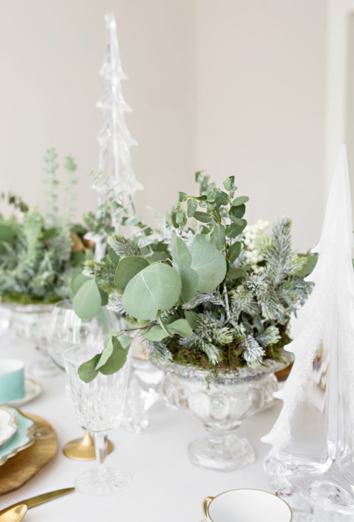 Faux Holiday plants