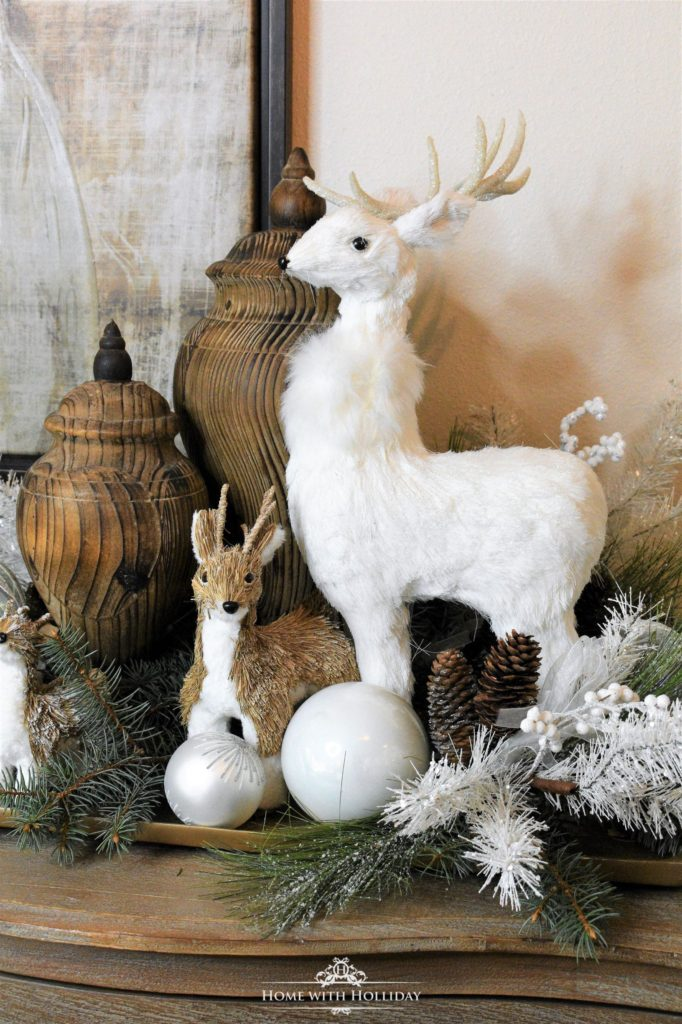 rustic winter decor