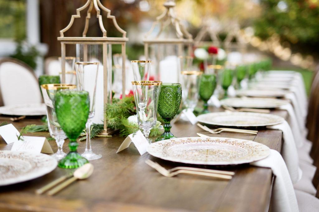 elegant Italian dinner party