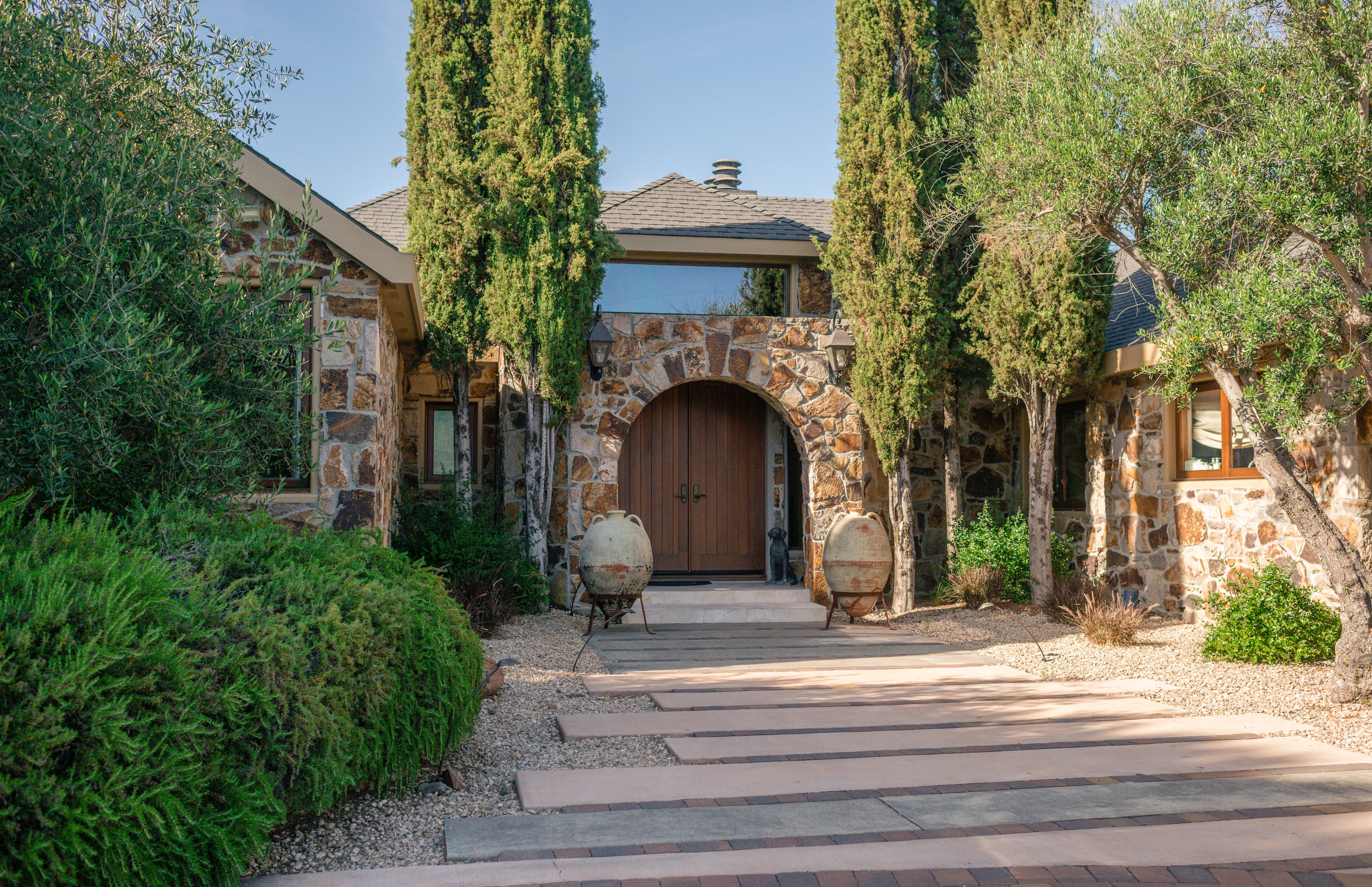 Napa Estate Home Tour: The Cardinale Winery Guest House