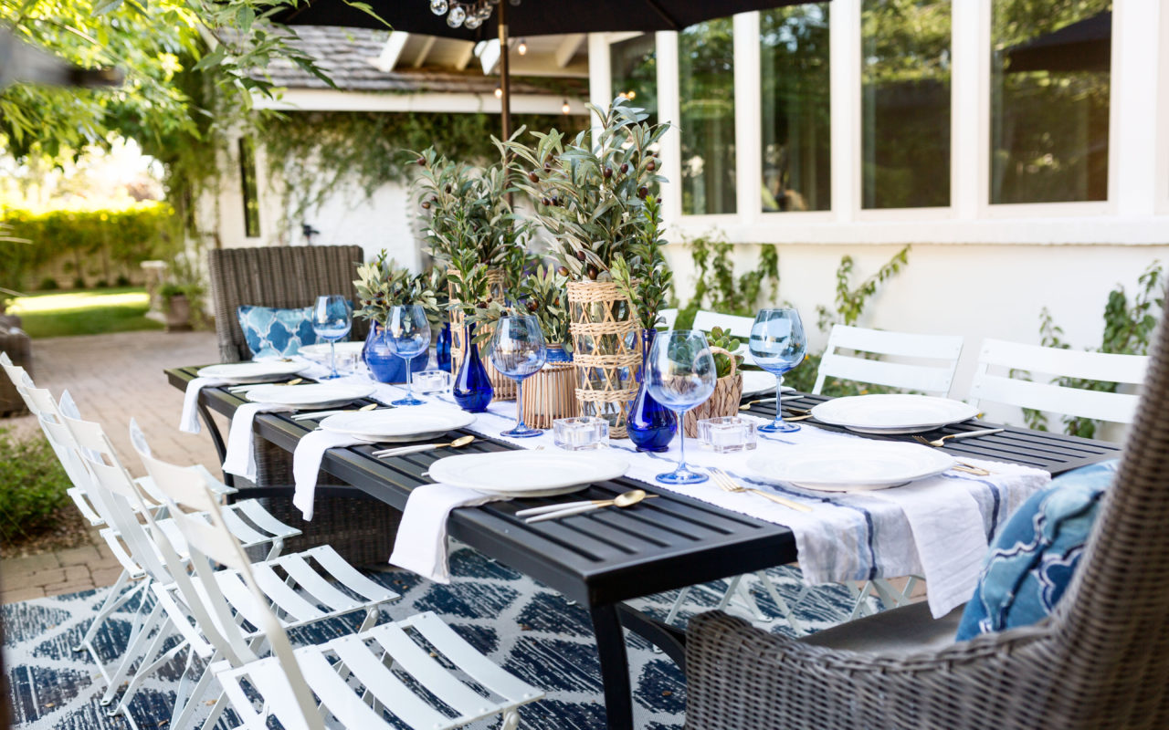 Mediterranean-inspired dinner party