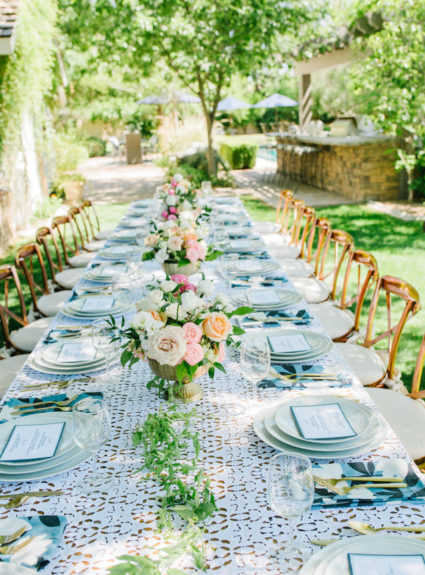 A Backyard Luncheon for Arizona Lifestyle Bloggers