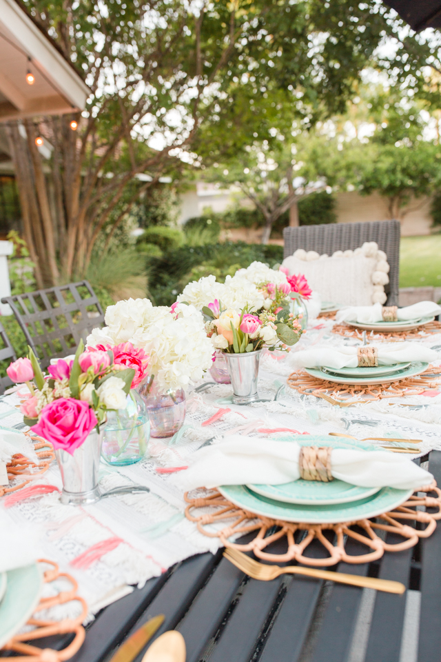 Backyard Party Ideas: Anthropologie-Inspired Summer Dinner