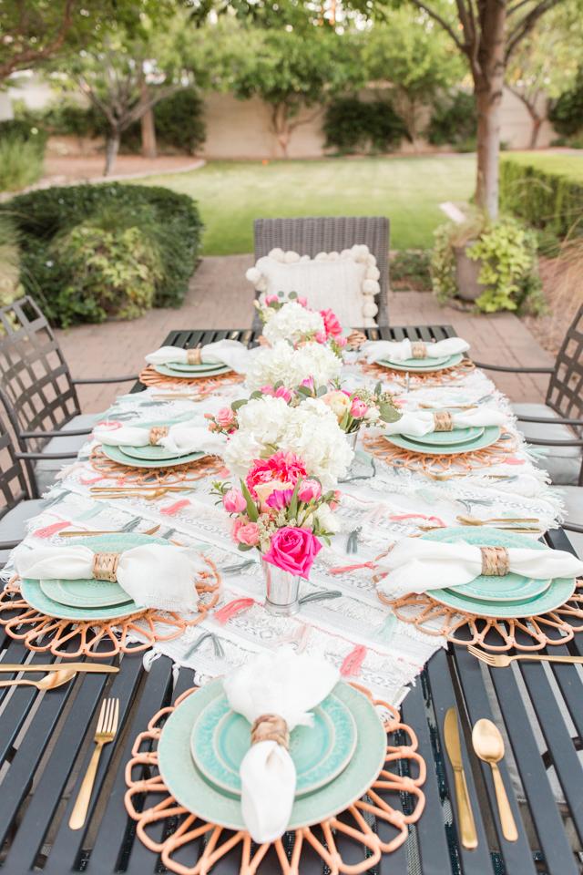Backyard Party Ideas: Anthropologie-Inspired Summer Dinner