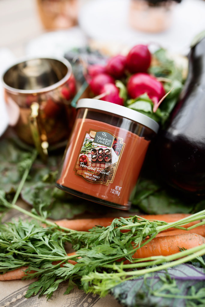 autumn harvest candle