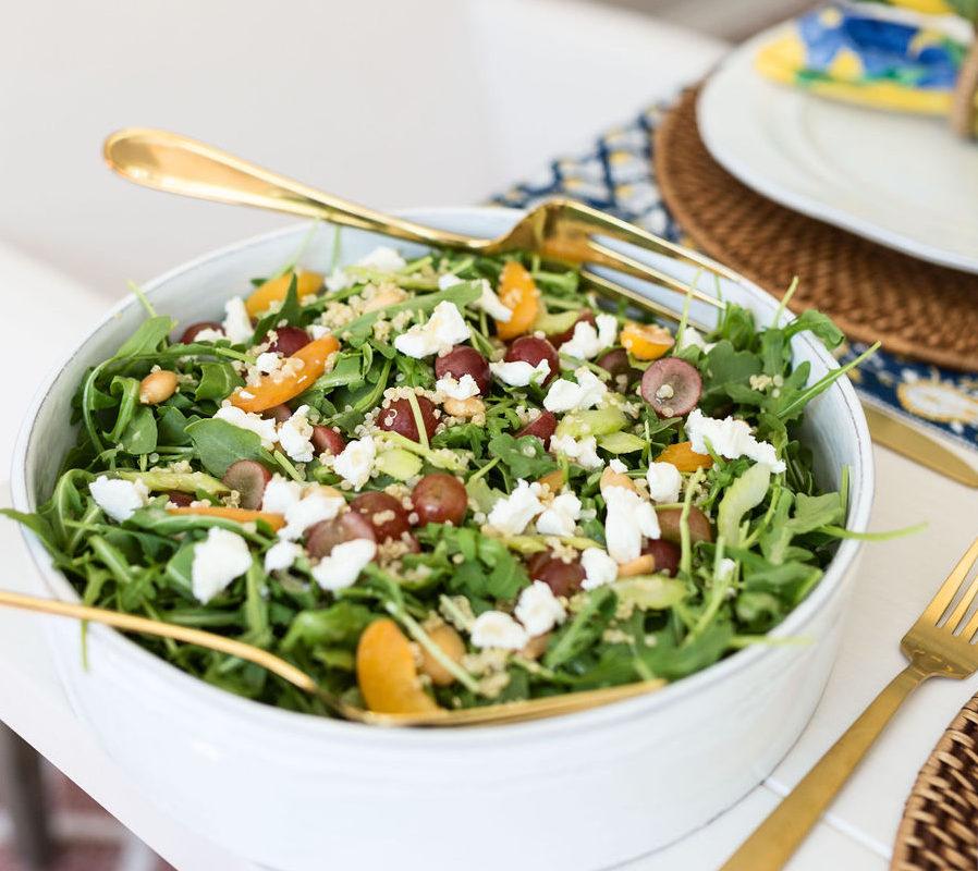 arugula apricot salad