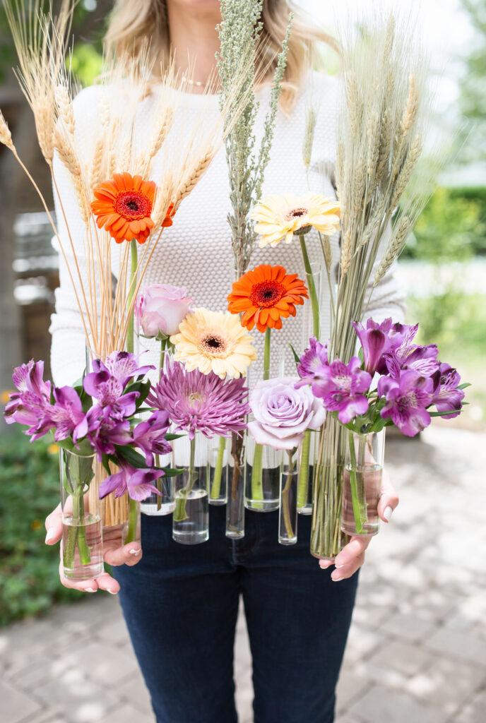 acrylic vase