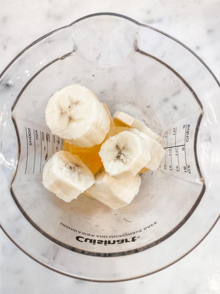 frozen banana slices