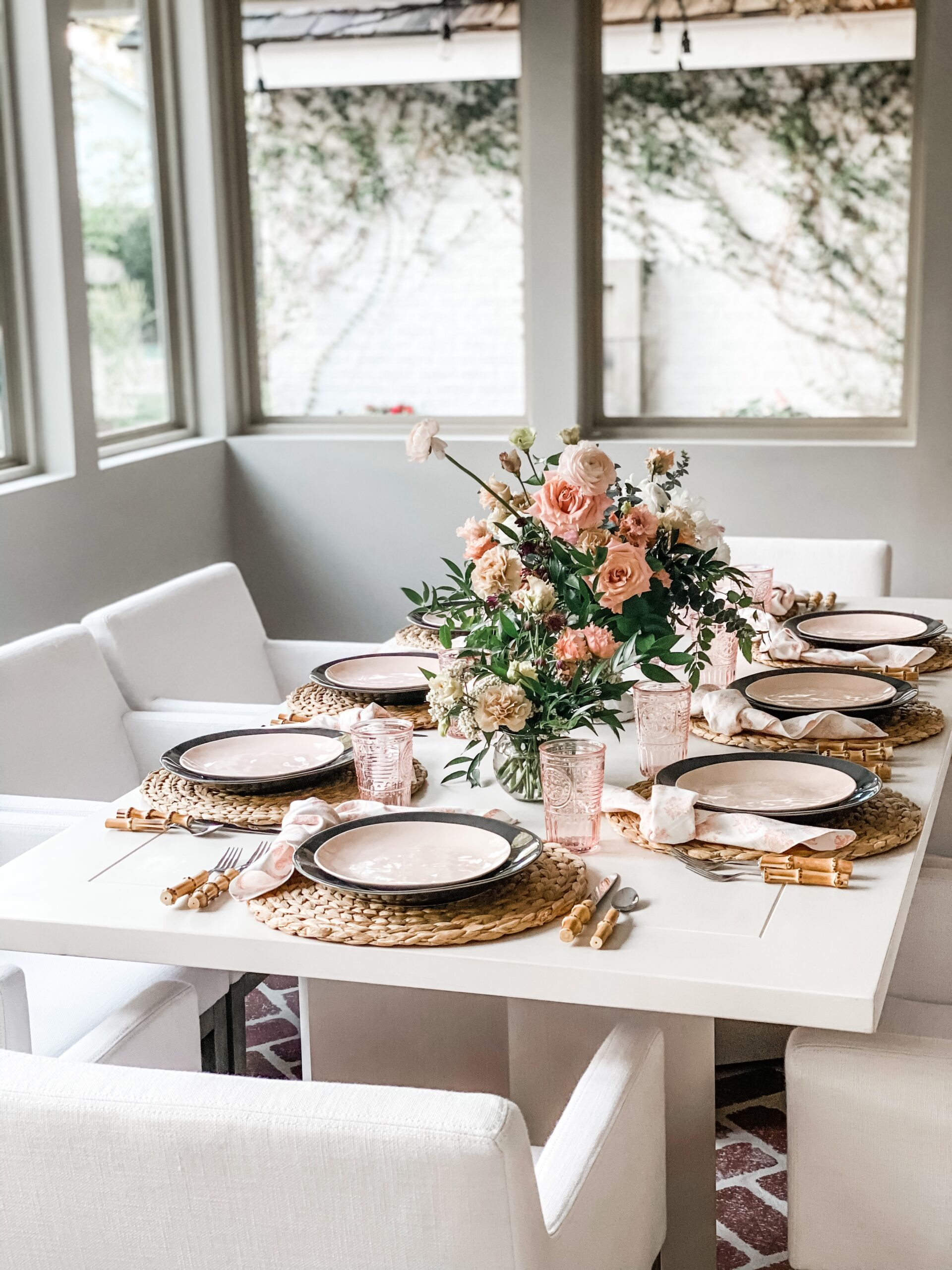 Spring Table Decor: Airy, Wild and Ethereal