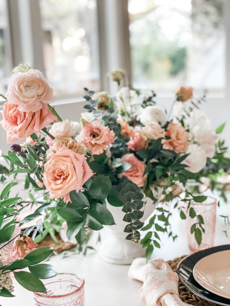 airy flower arrangement