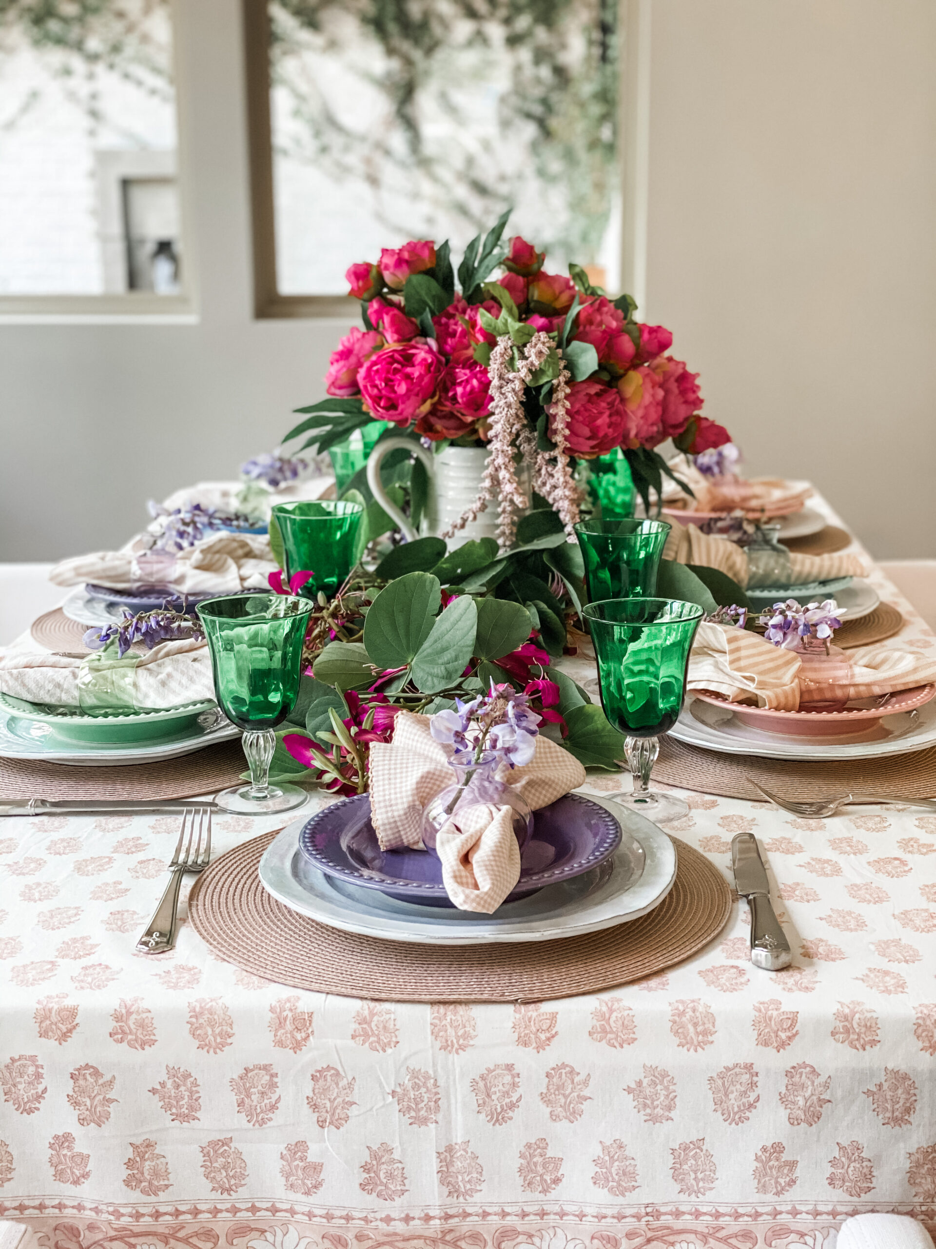 Easter Table Ideas and Blog Hop
