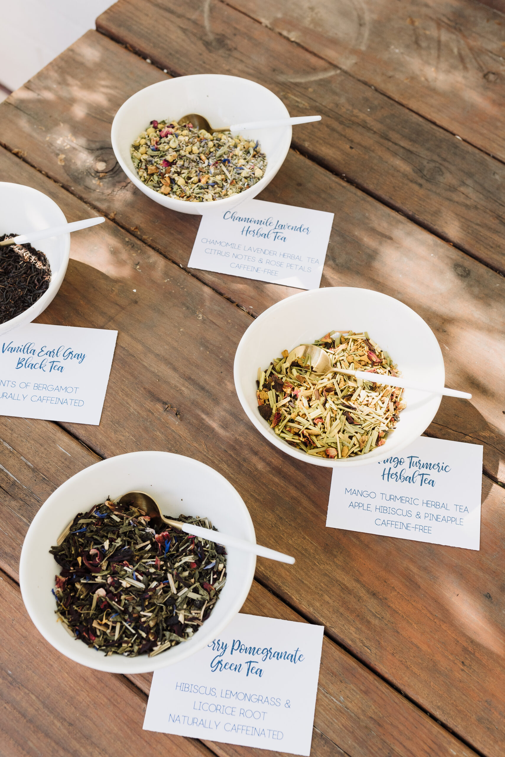 Tea Bar Party: Make Your Own Loose Leaf Infusion