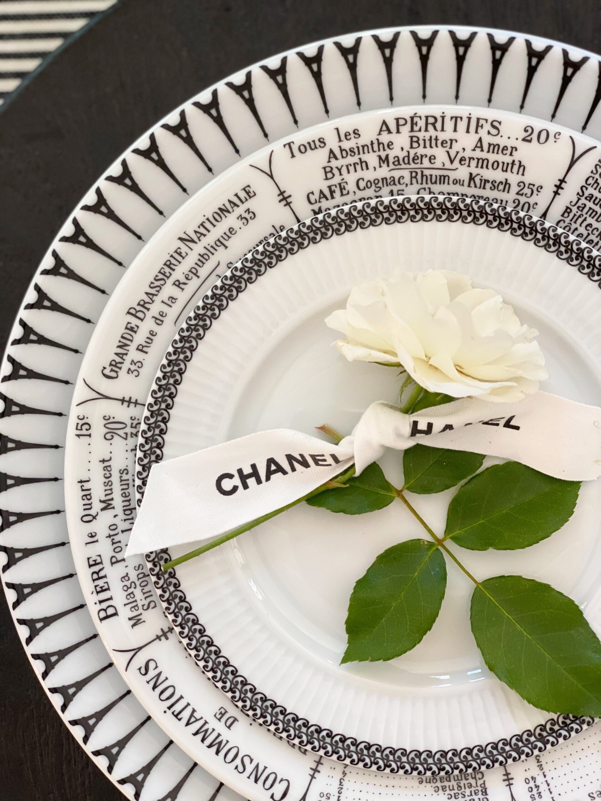 Chanel Party: Black, White and Oh So Parisian