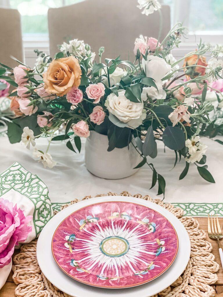 airy floral arrangement