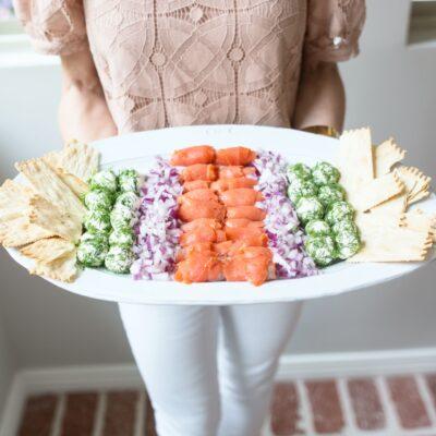 Breakfast Board Ideas: Lox Platter