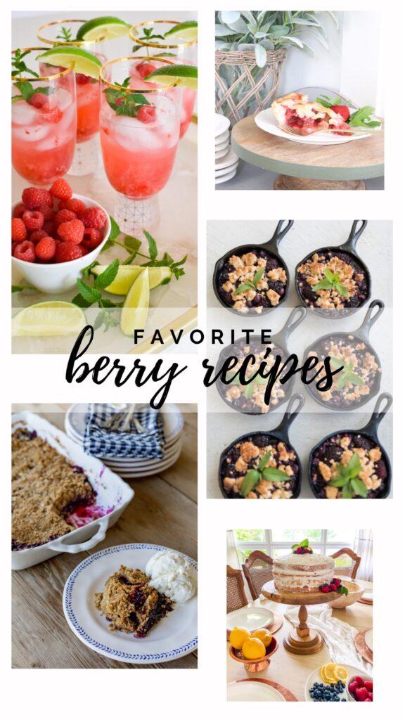 favorite berry recipes