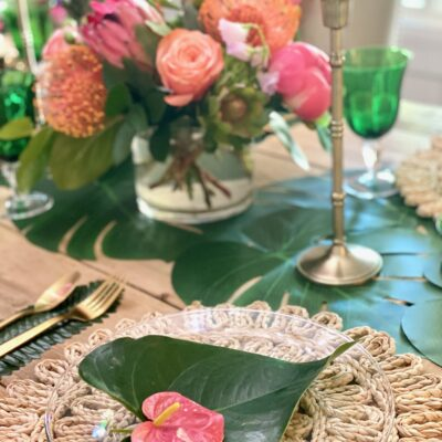 Tropical Birthday Party: Hawaiian-Inspired