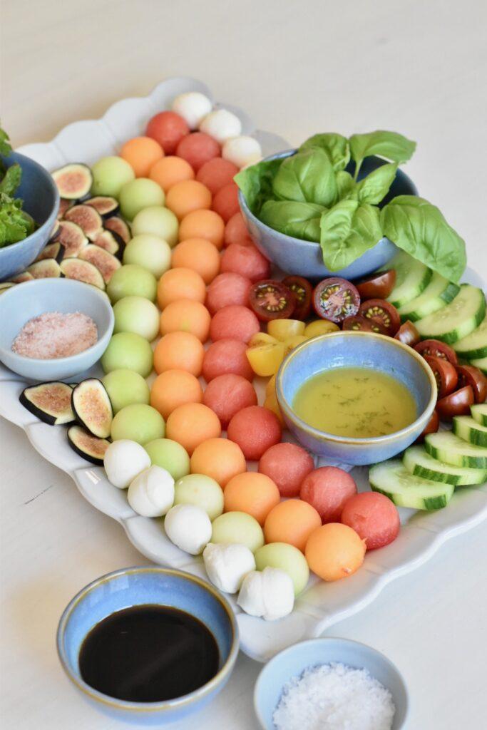 summer melon board