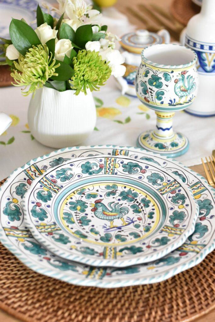Italian dinnerware