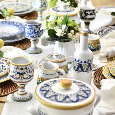 A Dreamy Italian Table: My Authentic Dinnerware Collection