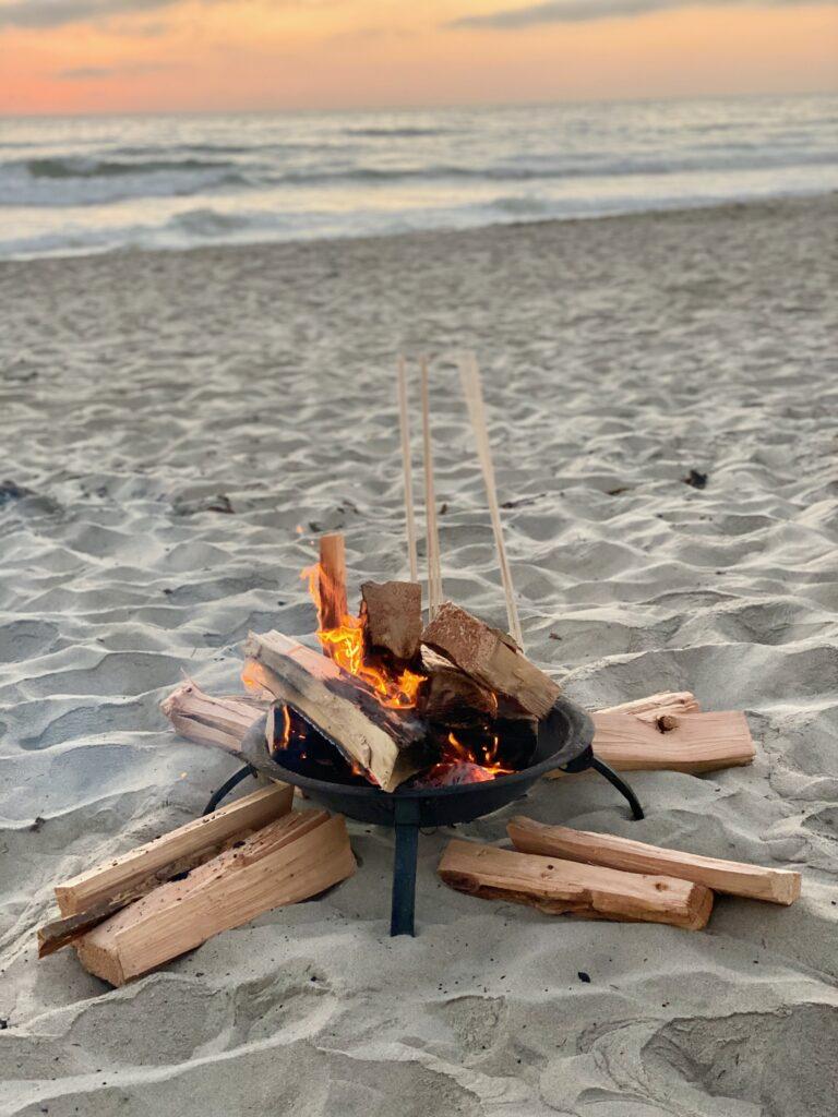 s'mores bonfire