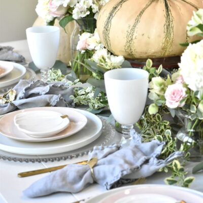 Pink Pumpkin Table: An Unexpected Twist on Fall Decor