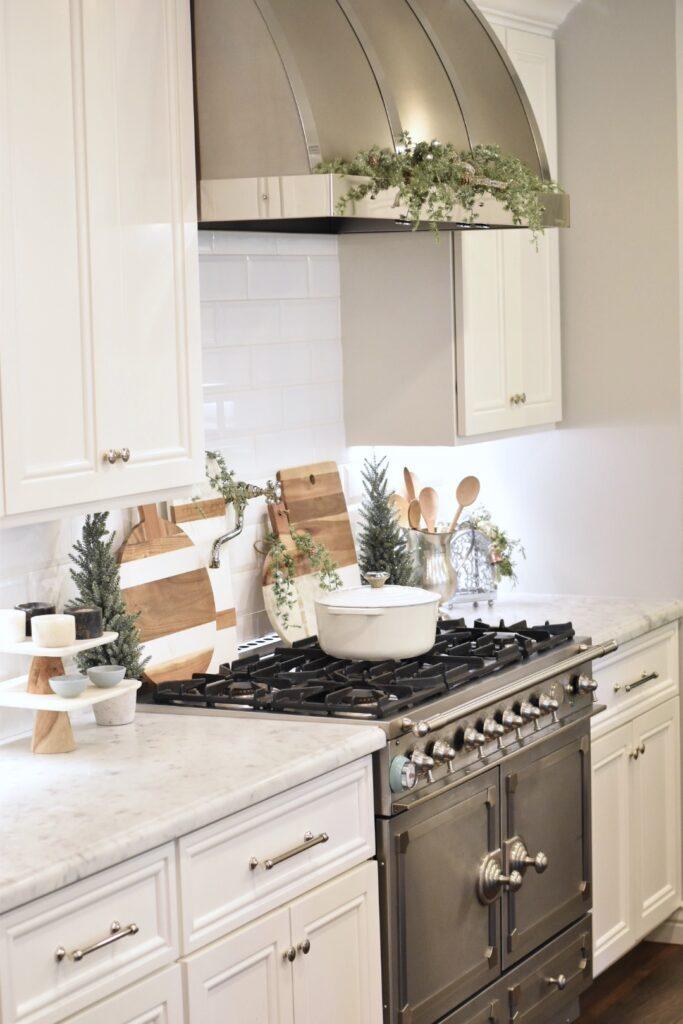 Christmas decor kitchen