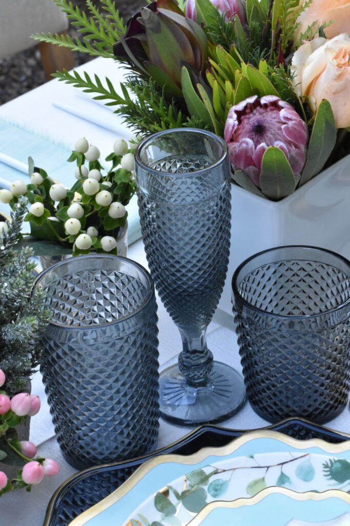charcoal glassware