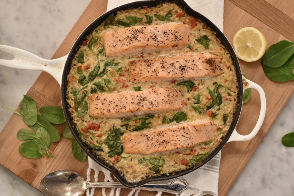 skillet salmon recipe