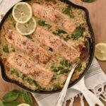 skillet salmon