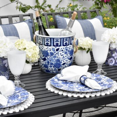 Alfresco Dining: How to Set an Easy Table