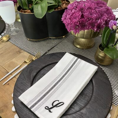 Personalized Napkins: How to Make Your Own