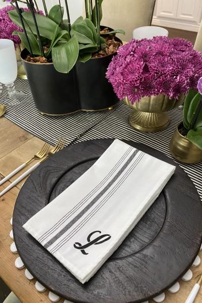 Personalized napkin